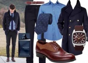 Japon model ceketli erkek kombin modeli