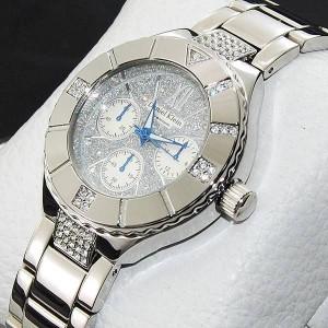 Bayanlar düğünde giymeleri için gümüş düğünlük kol saatleri