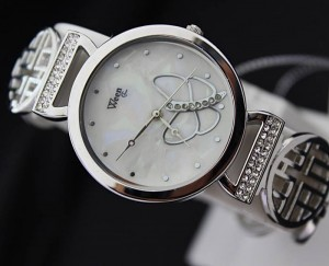 Butterflies ladies wristwatch signed