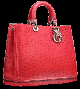 Çilek reçeline benzer bayan kol çantası