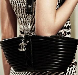 Black basket ladies bag(Siyah sepet şeklinde bayan çantası)