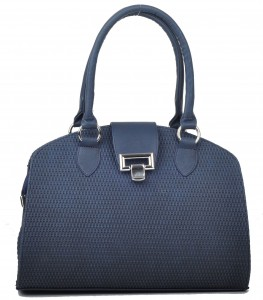Gri çapraz dokuma bayan çanta