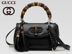 Gucci kehribar taşı kullanılmış bayan çanta