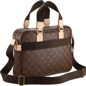 Laptop çantasına da benzer bayan kahverengi çanta
