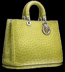 Limon yeşili renginde bayan kol çantası