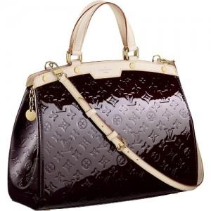 Louis Vuitton bitter çikolata renginde bayan çanta