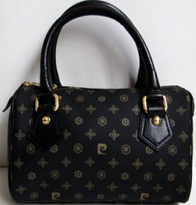Pierre cardin simsiyah bayan çanta