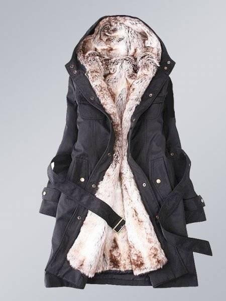 Isıtmada Birebir Olan Kışlık Bayan Mont 2015 Bayan Modası